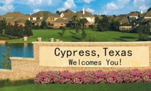 Home buyers in Cypress Texas