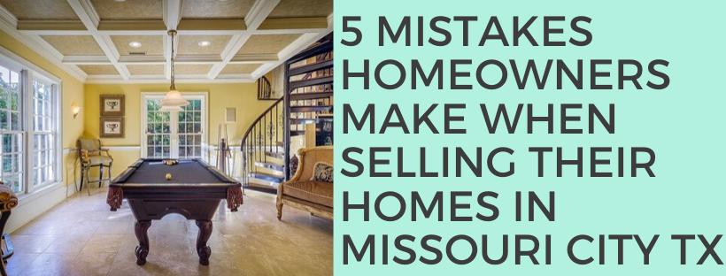 We buy houses in Missouri City TX