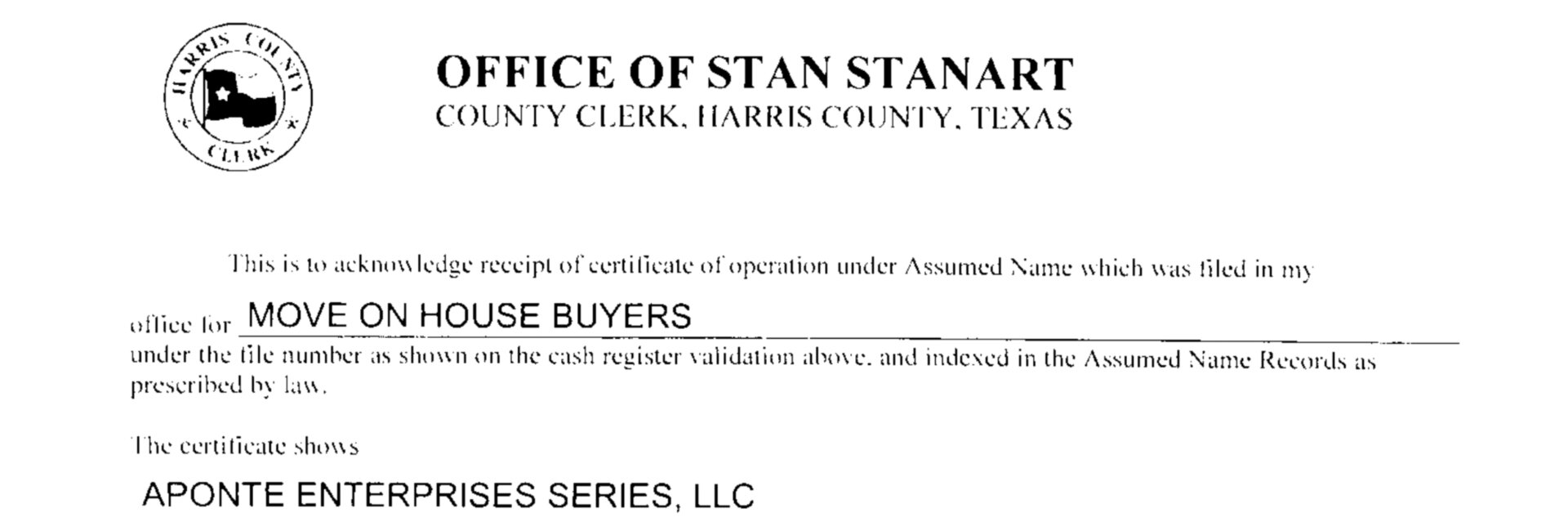 Our Company - Legitimate Texas Buyers