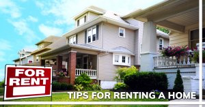 Tips on Renting a home in Tucson