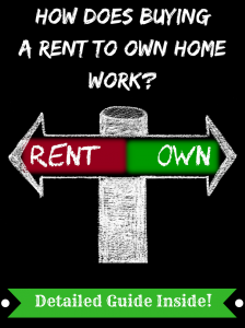 How does buying a rent to own home work?
