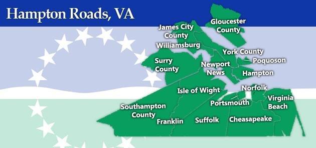 We buy houses in all of Hampton Roads, Virginia