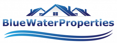 Blue Water Prop­er­ties logo