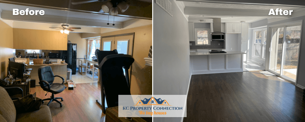 KC Property Connection Before And After