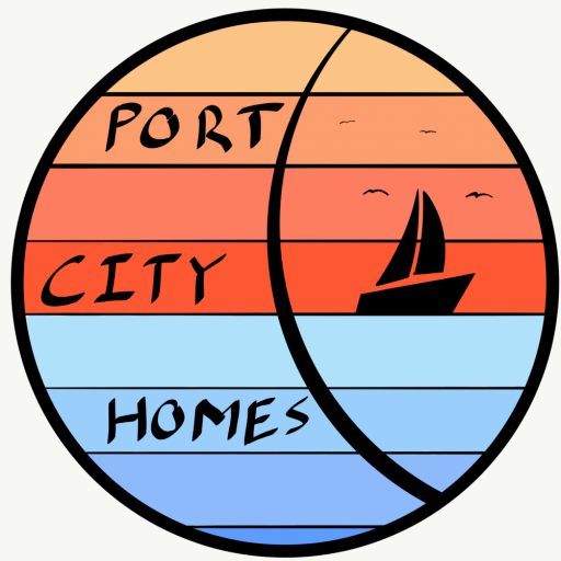 Port City Homes  logo