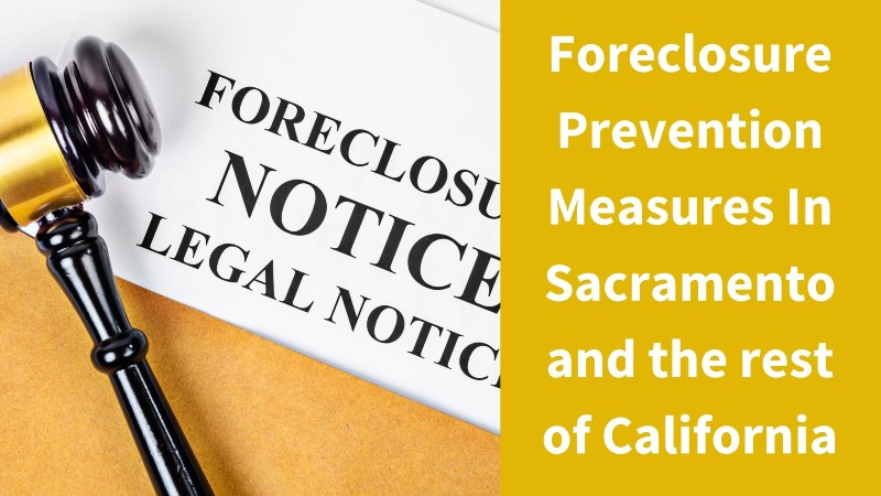 We buy foreclosure homes in Sacramento California