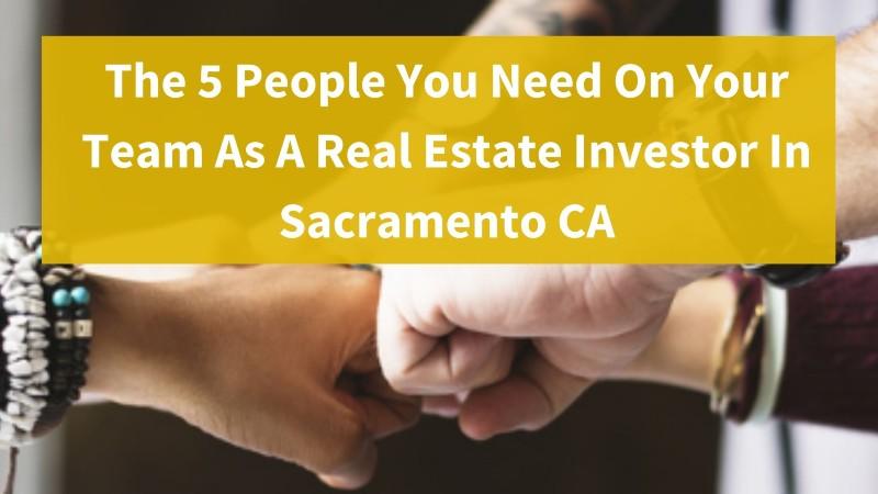 Real estate investor in Sacramento CA