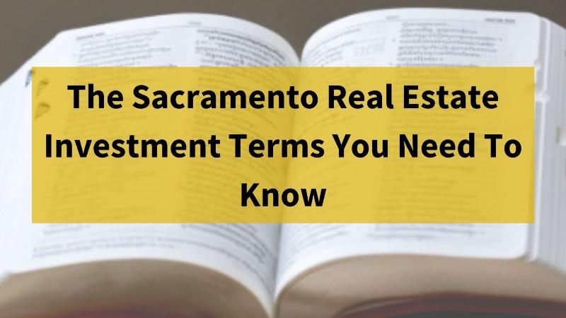 Sacramento real estate investors
