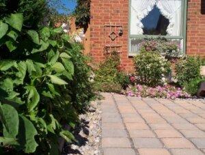 high maintenance landscaping