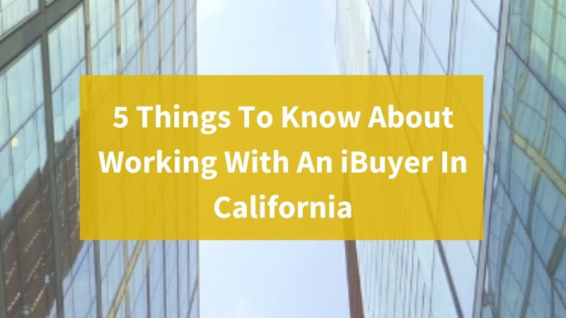 local cash home buyers in California