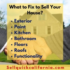 What to fix to sell your house fast