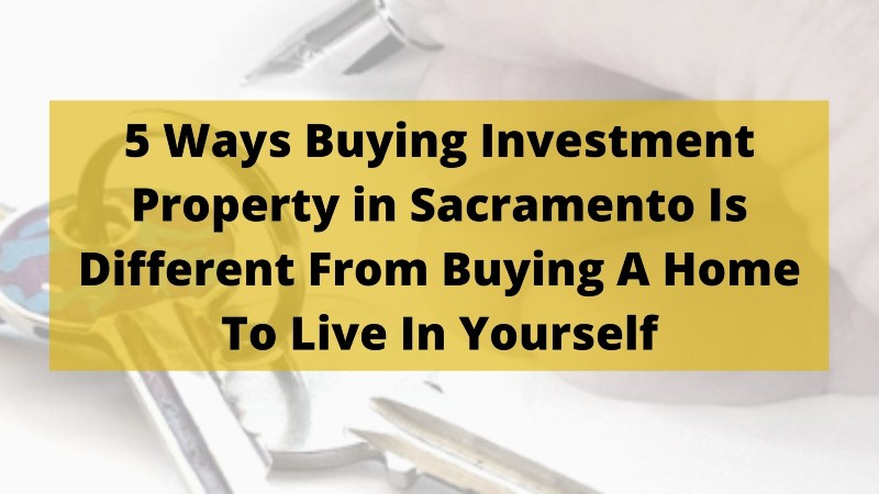 Professional home buyer in Sacramento