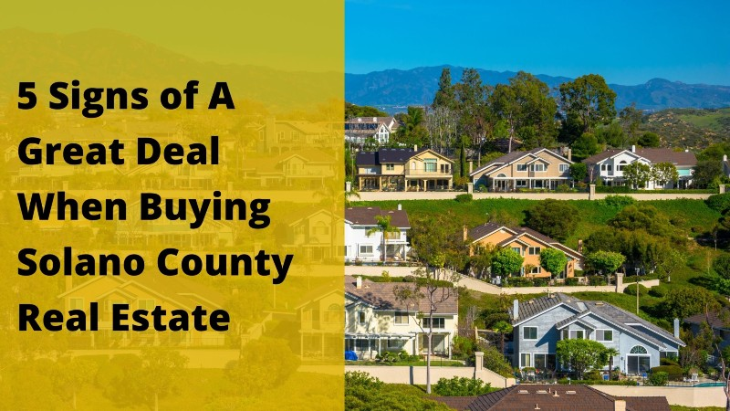 Real estate investors Solano County