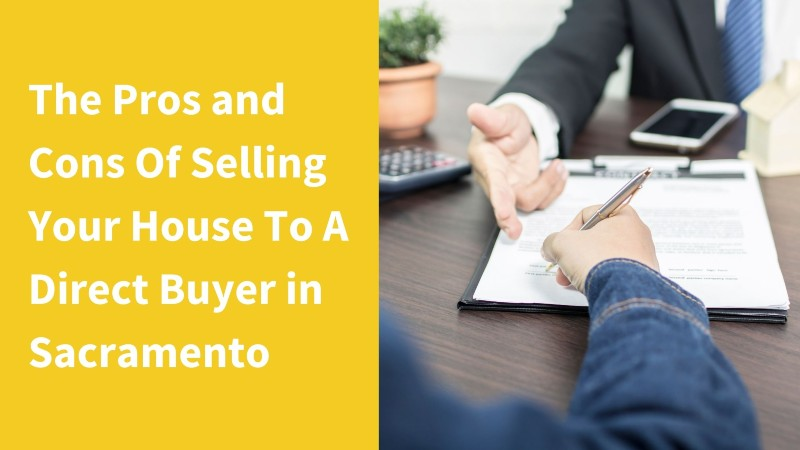 direct buyer in Sacramento CA