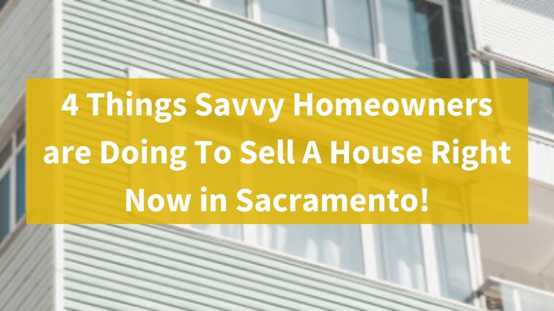 Sell your house quickly in Sacramento