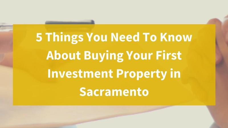 Real estate investors Sacramento CA