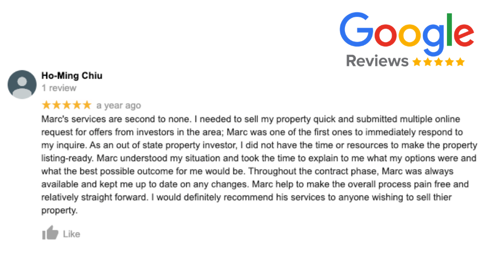 we buy houses reviews sell quick california