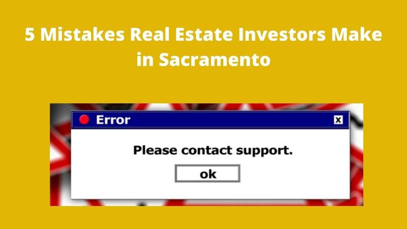 We buy houses in Sacramento CA
