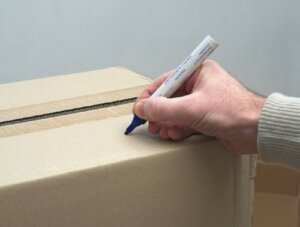 label your boxes when moving houses in Sacramento County