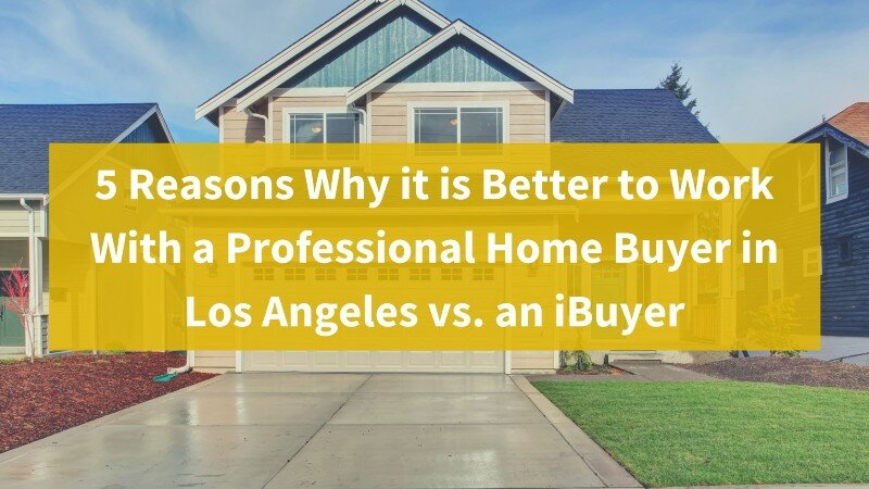 Professional home buyer in Los Angeles