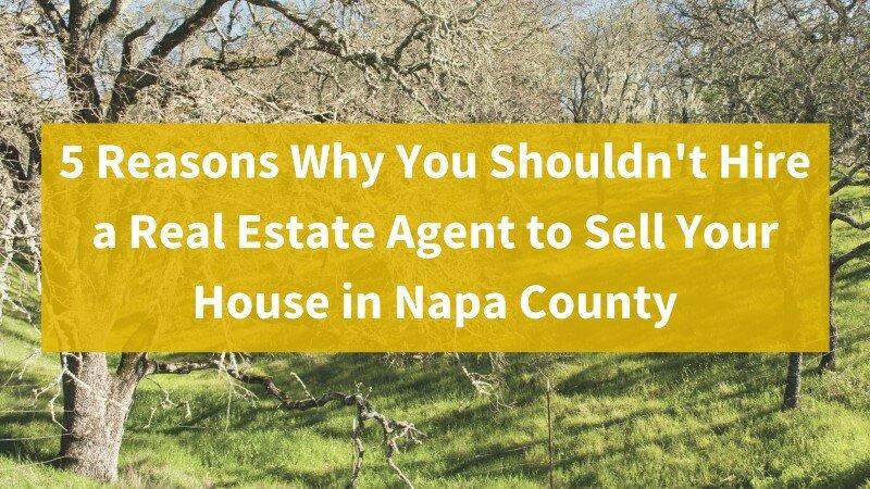 We buy properties in Napa County