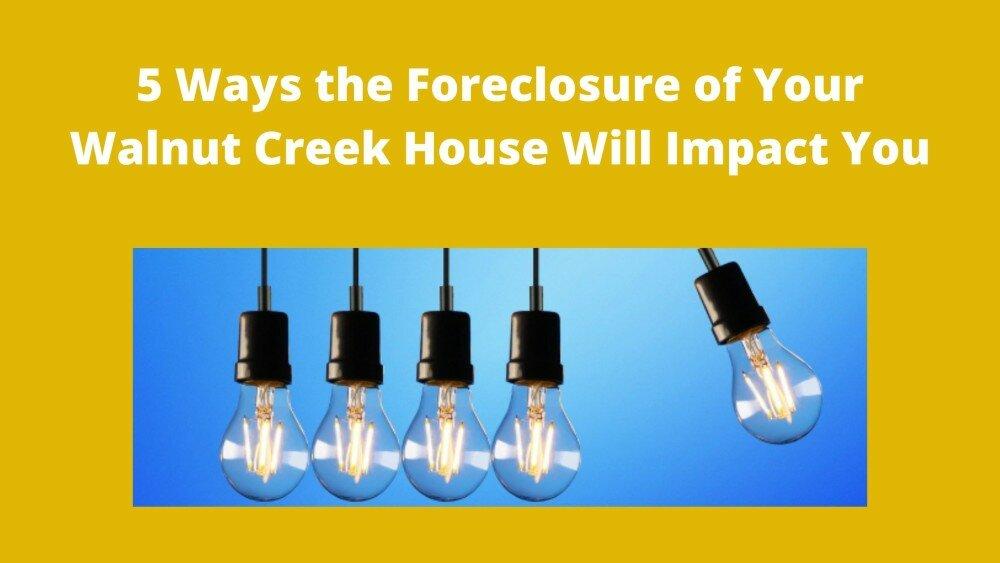 We buy houses in Walnut Creek
