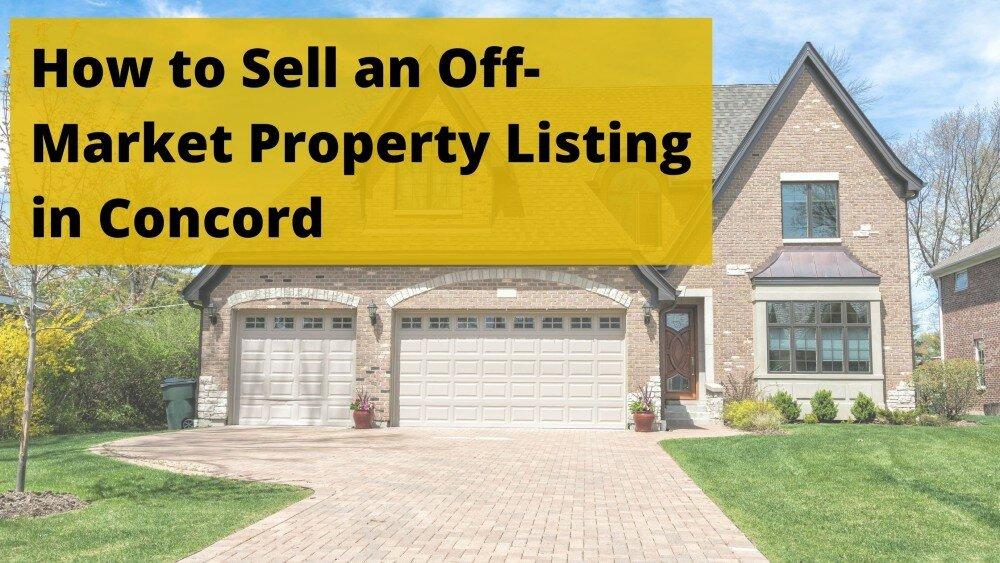 We buy houses in Concord
