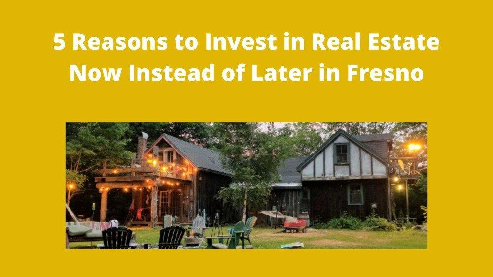 We buy houses in Fresno CA