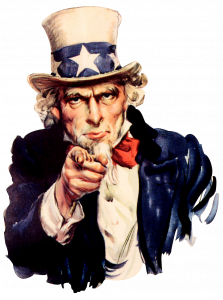 Uncle Sam pointing at you 1031 exchange