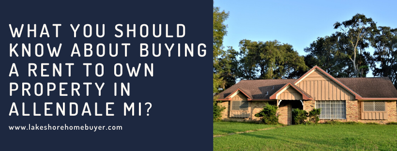 we buy properties in Allendale MI