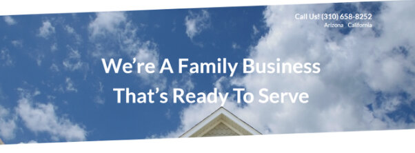 We're a Family Owned Business and Your Local Neighbors!