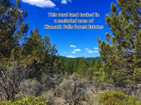 Rural, Vacant Land in Klamath County, Oregon
