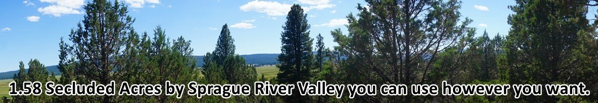 Klamath County Vacant Land