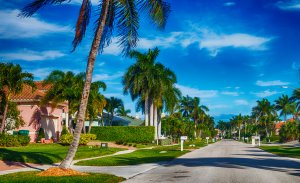 a neighborhood in Florida, where we buy homes