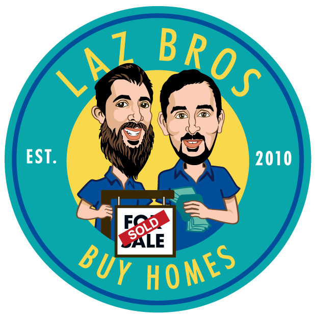 Laz Bros Buy Homes logo