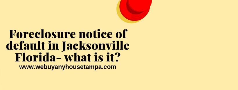 sell your property in Jacksonville FL