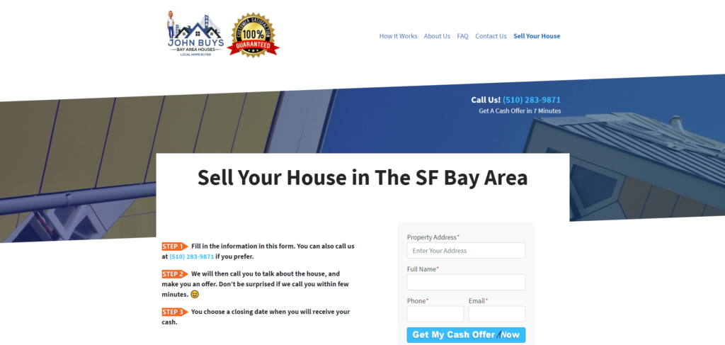 Sell Your House in The SF Bay Area CA