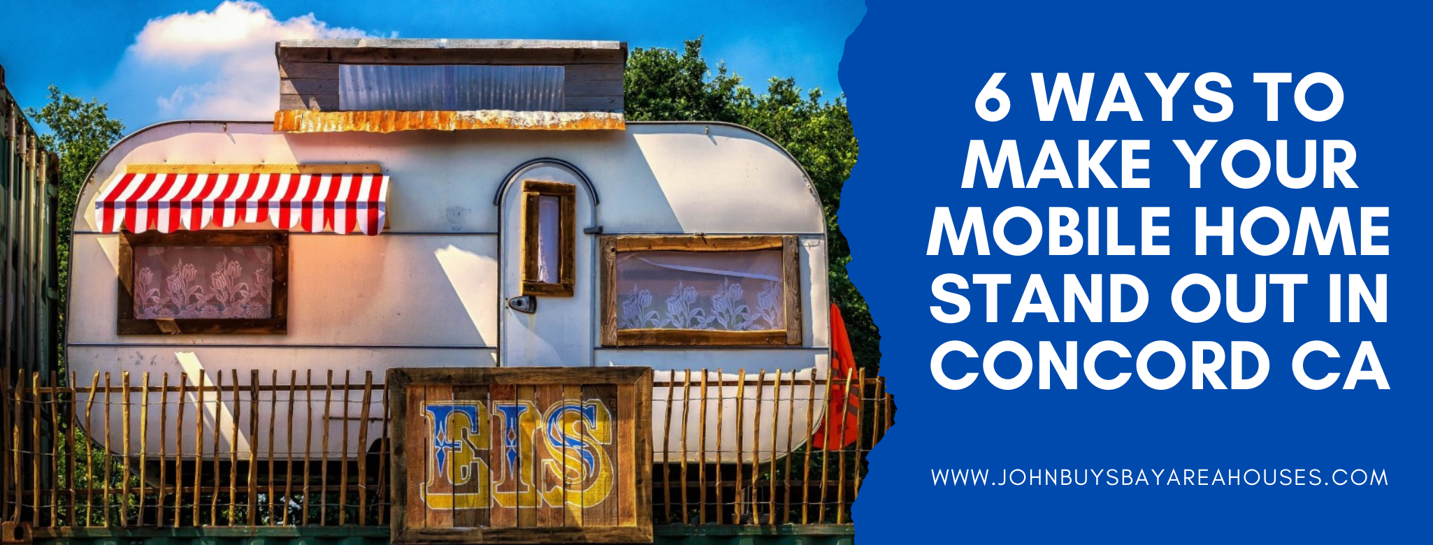 We buy properties in 5 Ways To Market Your Mobile Home For Sale In Martinez CA