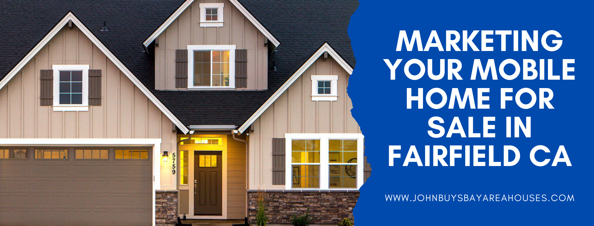 We buy properties in Fairfield CA