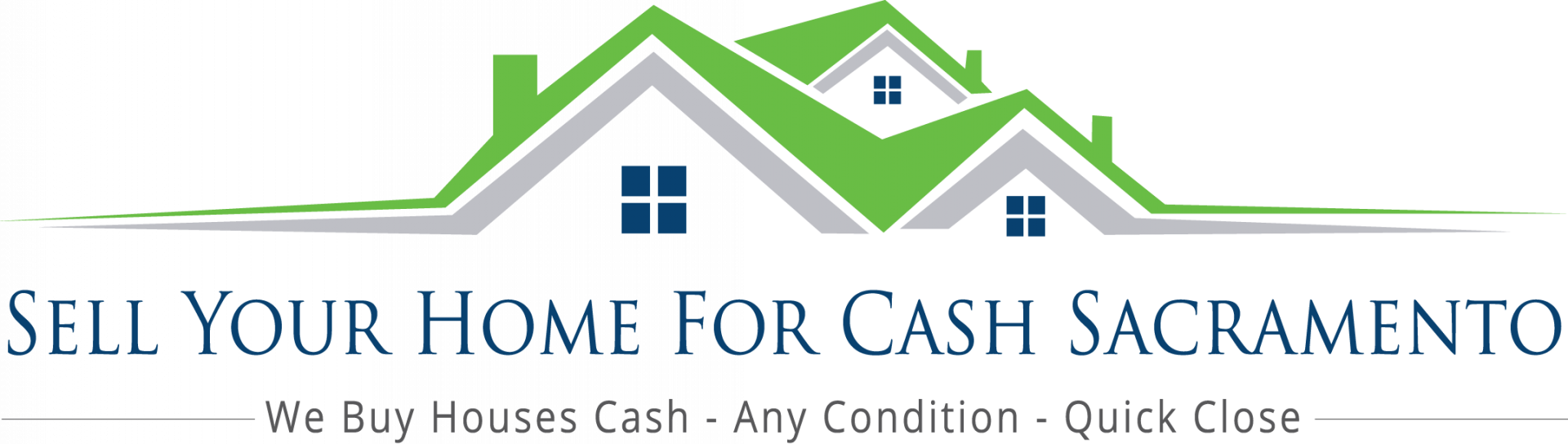 Sell Your Home For Cash Sacramento  logo