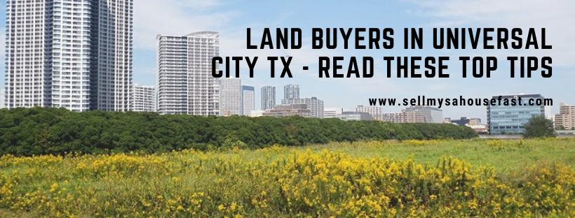 We buy houses in Universal City Texas