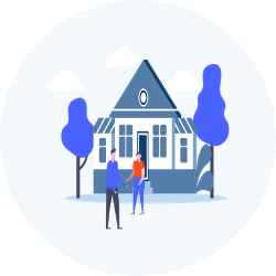 Property Visit With A Cash Offer