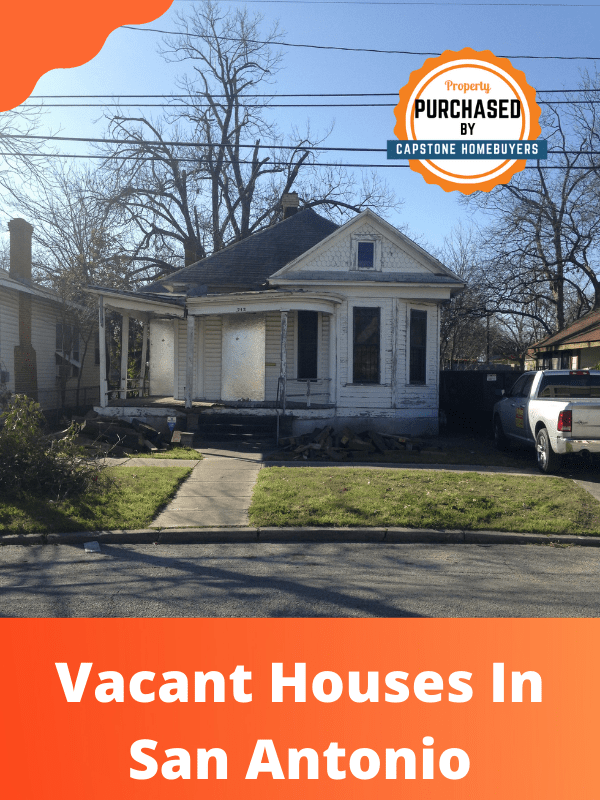 Selling A Vacant House As-Is