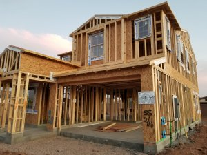 Home Being Built in Gilbert