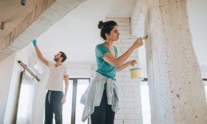 Painting Inherited Home