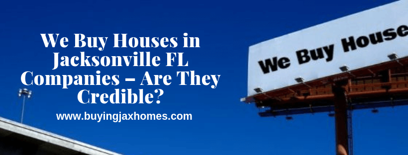 We Buy Houses Companies In FL