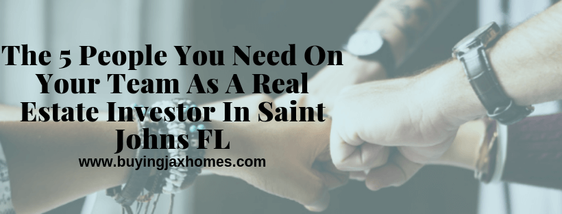 Real Estate Investor In Saint Johns FL