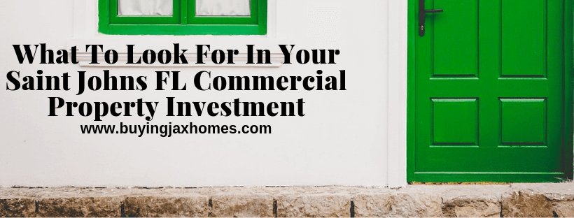 Commercial Property Investment In Saint Johns FL
