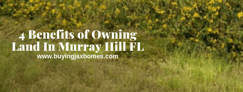 Benefits of Owning Land In Murray Hill FL