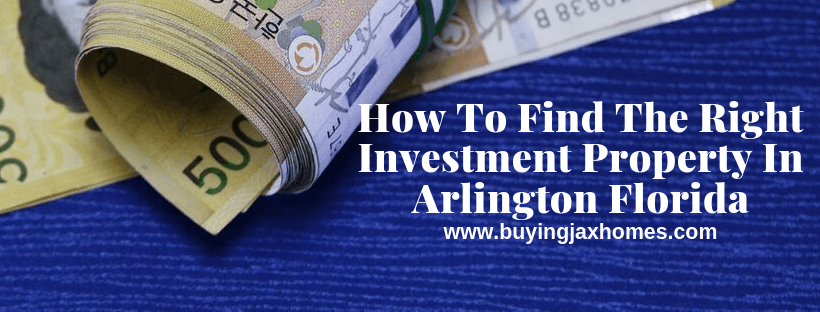 We Buy Houses In Arlington Florida